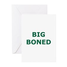 Big Boned Greeting Cards (Pk of 10)