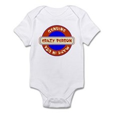 Genuine Crazy Person Infant Bodysuit
