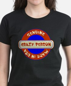 Genuine Crazy Person Tee