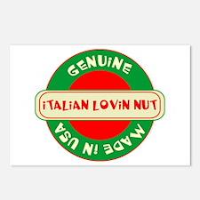 Italian Lovin Nut Postcards (Package of 8)