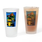 Grand Prix Auto Racing Print Drinking Glass