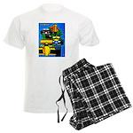 Grand Prix Auto Racing Print pajamas