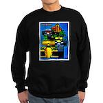 Grand Prix Auto Racing Print Sweatshirt