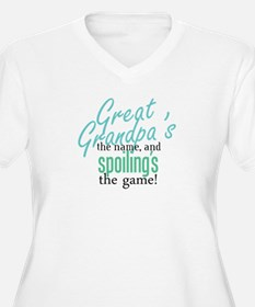 Great Grandpa's the Name! T-Shirt
