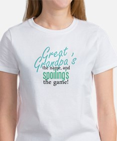 Great Grandpa's the Name! Tee