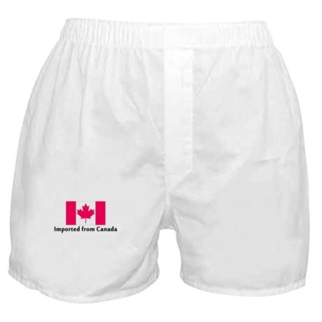 Imported from Canada Boxer Shorts