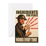 Ingredients of Peace Greeting Cards (Pk of 10)