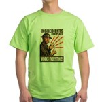 Ingredients of Peace Green T-Shirt