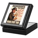 Ingredients of Peace Keepsake Box