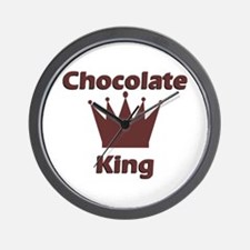 Chocolate King Wall Clock