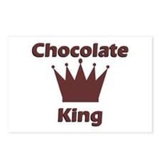 Chocolate King Postcards (Package of 8)