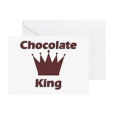 Chocolate King Greeting Card