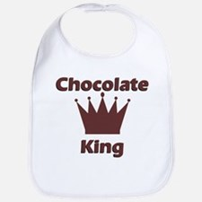 Chocolate King Bib