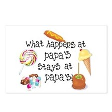 What Happens at Papa's... Postcards (Package of 8)