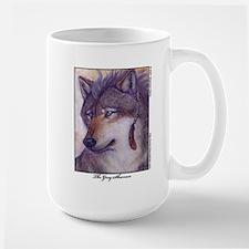 Grey Shaman Wolf Mug