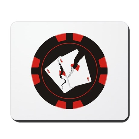 Cracked Aces Chip Mousepad