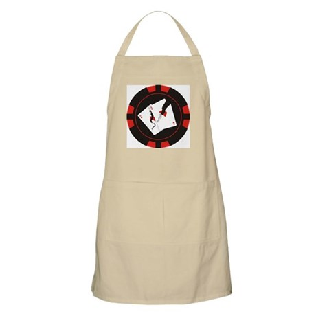 Cracked Aces Chip BBQ Apron