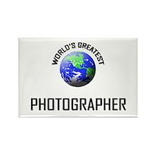 World's Greatest PHOTOGRAPHER Rectangle Magnet