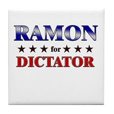 RAMON for dictator Tile Coaster