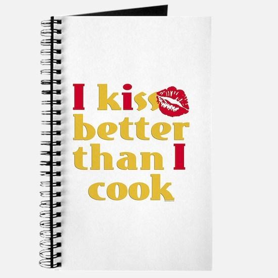 Kiss Better Than Cook Journal