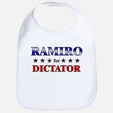RAMIRO for dictator Bib
