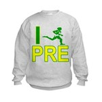 I Run PRE Kids Sweatshirt