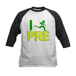 I Run PRE Kids Baseball Jersey