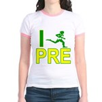 I Run PRE Jr. Ringer T-Shirt