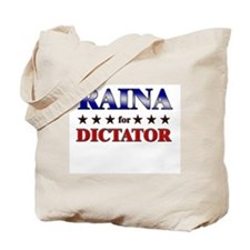 RAINA for dictator Tote Bag