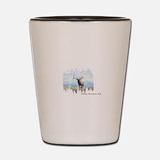 Rocky Mountain Elk Shot Glass