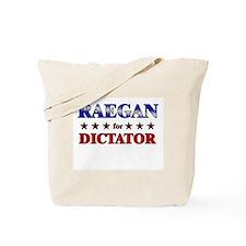 RAEGAN for dictator Tote Bag