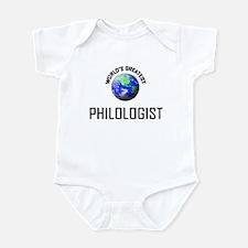 World's Greatest PHILOLOGIST Infant Bodysuit