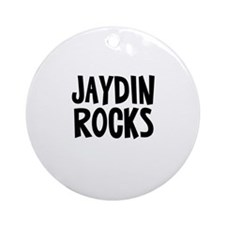 Jaydin Rocks Ornament (Round)