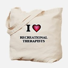 I love Recreational Therapists Tote Bag