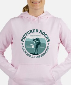 Cool Upper peninsula Women's Hooded Sweatshirt