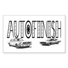AFinish Rectangle Decal