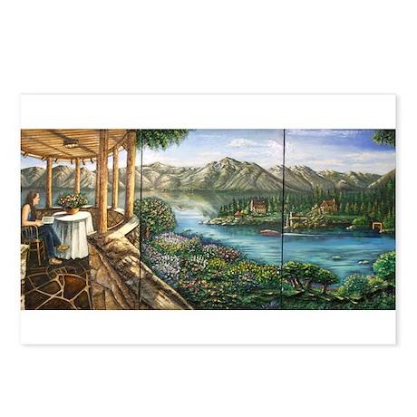 Lake Tahoe Thunderbird House Postcards (Package of