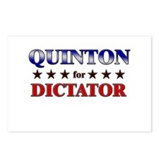 QUINTON for dictator Postcards (Package of 8)