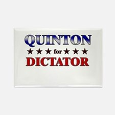 QUINTON for dictator Rectangle Magnet