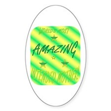 Intended Mother Oval Decal