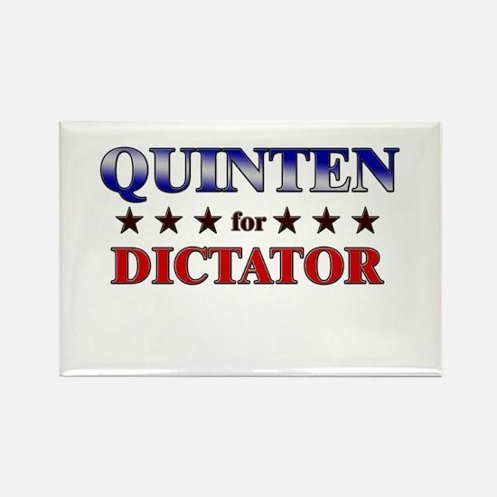 QUINTEN for dictator Rectangle Magnet