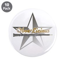 "Oboe - Licious 3.5"" Button (10 pack)"