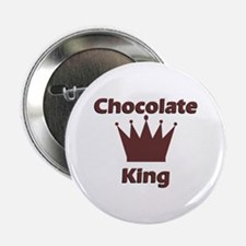 "Chocolate King 2.25"" Button"