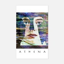 Athena Rectangle Decal