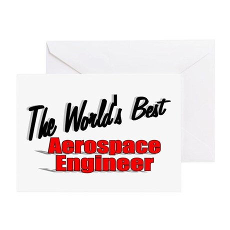 """The World's Best Aerospace Engineer"" Greeting Car"
