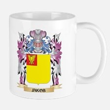 Jakob Coat of Arms - Family Crest Mugs