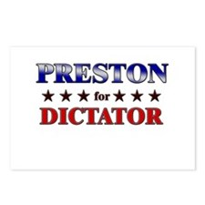 PRESTON for dictator Postcards (Package of 8)