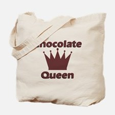 Chocolate Queen Tote Bag