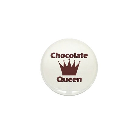 Chocolate Queen Mini Button (10 pack)