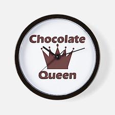 Chocolate Queen Wall Clock